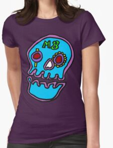 Zef - Skull Womens Fitted T-Shirt