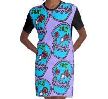 Zef - Skull Graphic T-Shirt Dress