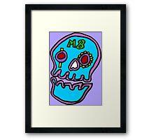 Zef - Skull Framed Print