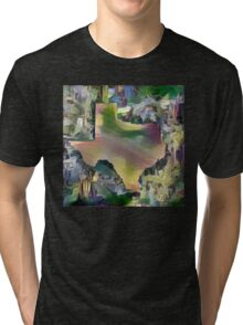 A Sunday Afternoon on the Island of South Padre Tri-blend T-Shirt
