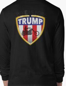 Bikers For Trump Long Sleeve T-Shirt