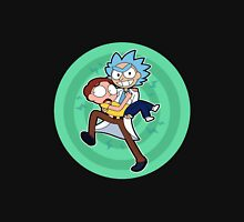 Ricy And Morty happy Unisex T-Shirt
