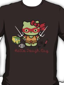 Hello Ninja Turtle Tough Guy T-Shirt