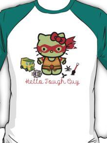 Hello Ninja Turtle Tough Guy T-Shirt
