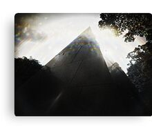 Pyramidal tomb Canvas Print