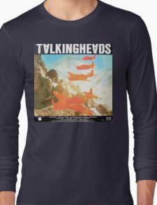 Talking Heads Vinyl Artwork Long Sleeve T-Shirt