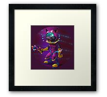 Intergalactic Kitten Framed Print