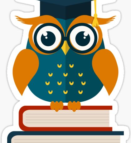 Wise owl Sticker