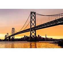 Golden City Photographic Print