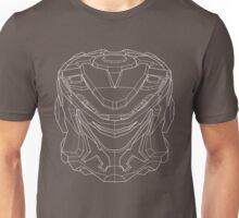 Striker Eureka Line Art - White Unisex T-Shirt