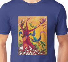 Red Roots White Rocks Unisex T-Shirt