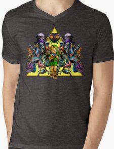 Young Link Mens V-Neck T-Shirt