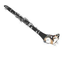 Clarinet cat by marimbasian