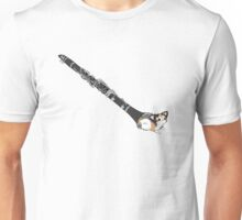 Clarinet cat Unisex T-Shirt