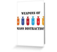 Social Distraction Greeting Card