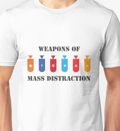 Social Distraction Unisex T-Shirt