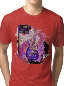 Splashed Guitar no. 33 Tri-blend T-Shirt