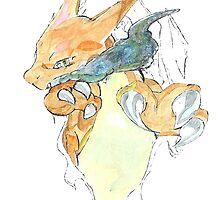 Pokemon - Charizard by JJJericho
