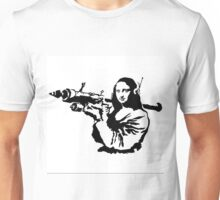 Bansky - Mona Lisa Unisex T-Shirt