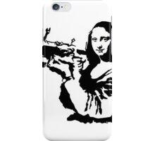 Bansky - Mona Lisa iPhone Case/Skin