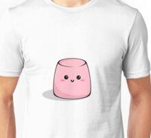 Cute pink marshmallow Unisex T-Shirt
