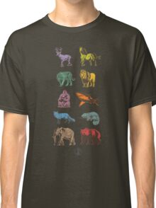 A Bunch of Animals on a T-Shirt Classic T-Shirt
