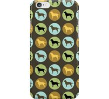 Labrador Retrievers: Chocolate, Yellow, Black iPhone Case/Skin