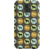 Labrador Retrievers: Chocolate, Yellow, Black Samsung Galaxy Case/Skin