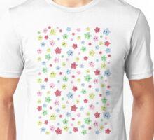 Luma Print White Unisex T-Shirt