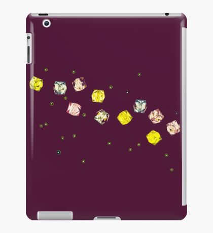 Funny Cool and Colorful Plastic Jewels  iPad Case/Skin