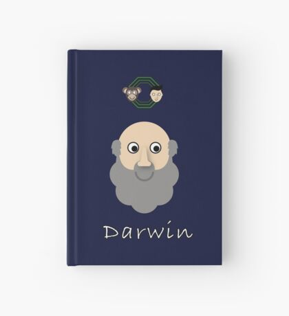 Charles Darwin Hardcover Journal