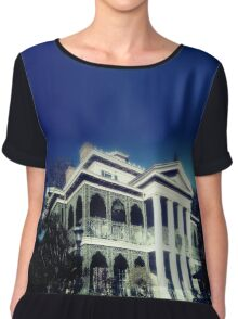 Haunted Mansion Chiffon Top