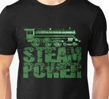 Steam Power Vintage Steam Loco Unisex T-Shirt