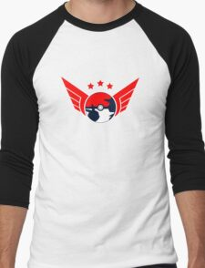 pokemon go poket ball  Men's Baseball ¾ T-Shirt
