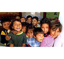 Children of Ica Photographic Print