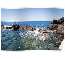 Stromboli and the Sea Poster