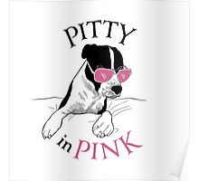 Pitty in Pink Poster
