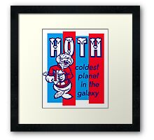 Coldest In The Galaxy - HOTH ICEE Framed Print