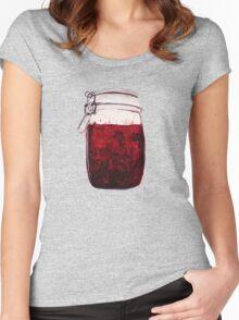plain ol' jam jar Women's Fitted Scoop T-Shirt