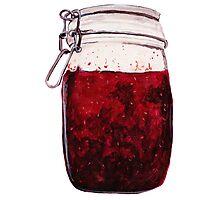 plain ol' jam jar Photographic Print
