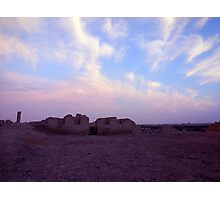 Inca ruins near Chincha Photographic Print