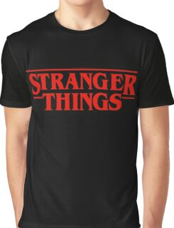 Stranger Things Logo Graphic T-Shirt