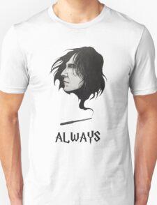 Severus Snape Alan Rickman Always Unisex T-Shirt