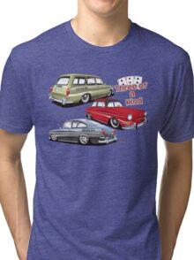 Three of a kind Tri-blend T-Shirt