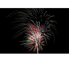 Fireworks Celebration Photographic Print