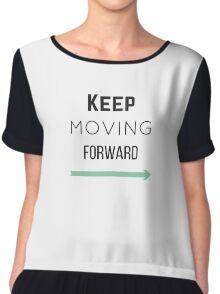 Keep Moving Forward Chiffon Top