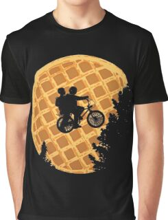 Moon's Waffle Stranger Things Graphic T-Shirt
