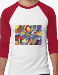 VooDoo Doll Men's Baseball ¾ T-Shirt
