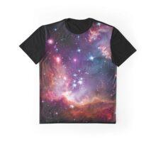 Starburst Nebula NGC 602 Graphic T-Shirt