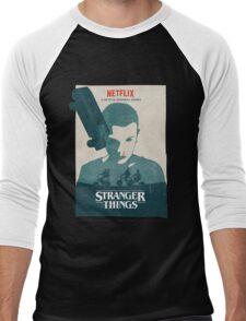 Car Stranger Things Men's Baseball ¾ T-Shirt